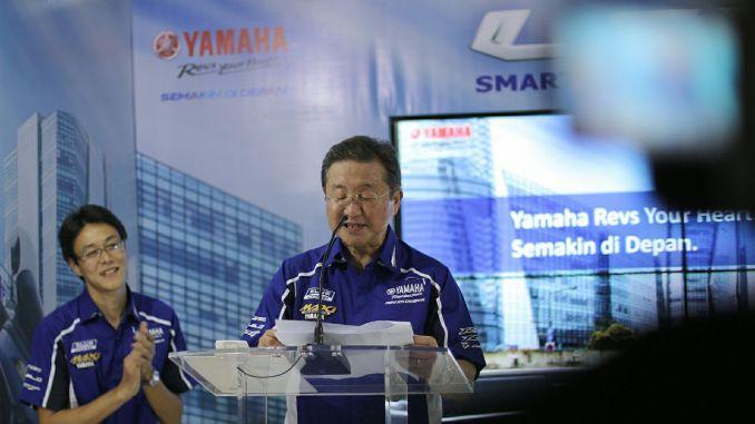 Warna Yamaha Lexi 125 2018