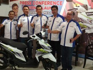 launching Suzuki NEX II Jawa Tengah DIY