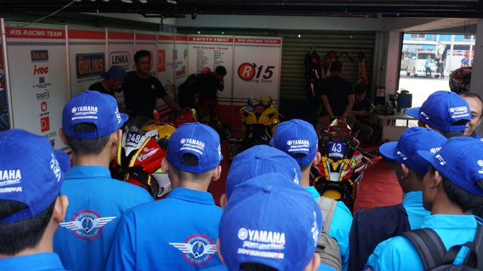yamaha riders academy edukasi ratusan siswa