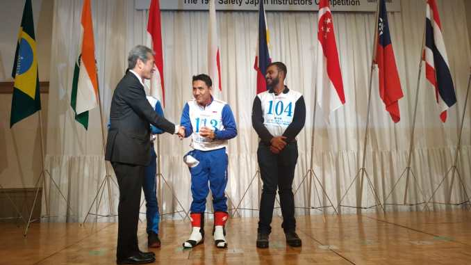 juara Safety Japan Instructors Competition 2018