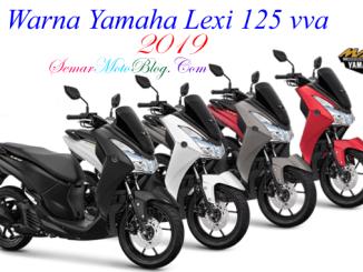 warna Yamaha Lexi 125 2019