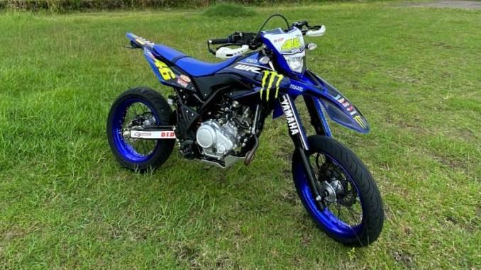Modif Yamaha WR 155 R Supermoto