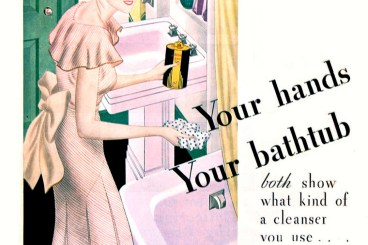 VINTAGE CLEANING AD