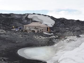 Cabaña de Ernst Shackleton, Antártida
