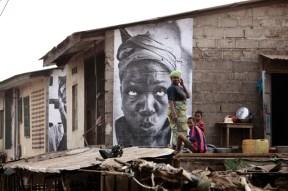 women are heroes, kibera, nairobi, kenya, 2008, JR