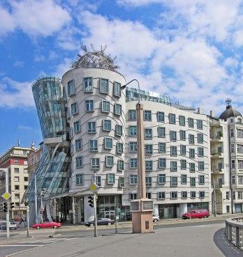 Casa Danzante, Frank Ghery, Praga