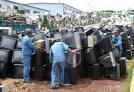 Basura electrónica en China