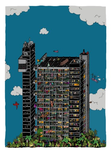 Guillaume Cornet, Trellick Tower