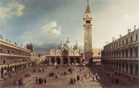 Canaletto, Plaza de San Marco