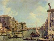 Canaletto, Vista del Gran Canal