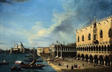 Canaletto, El palacio de los Dogos