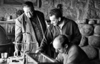 Con Jorge Amado y Diego Rivera