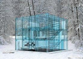 Casa cubo de cristal, Carlo Santambrogio