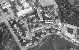 Urbanización Weissenhof, Vista aerea