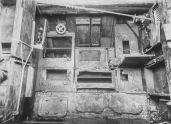 U Boat alemán 1918. mesa plegable y armarios