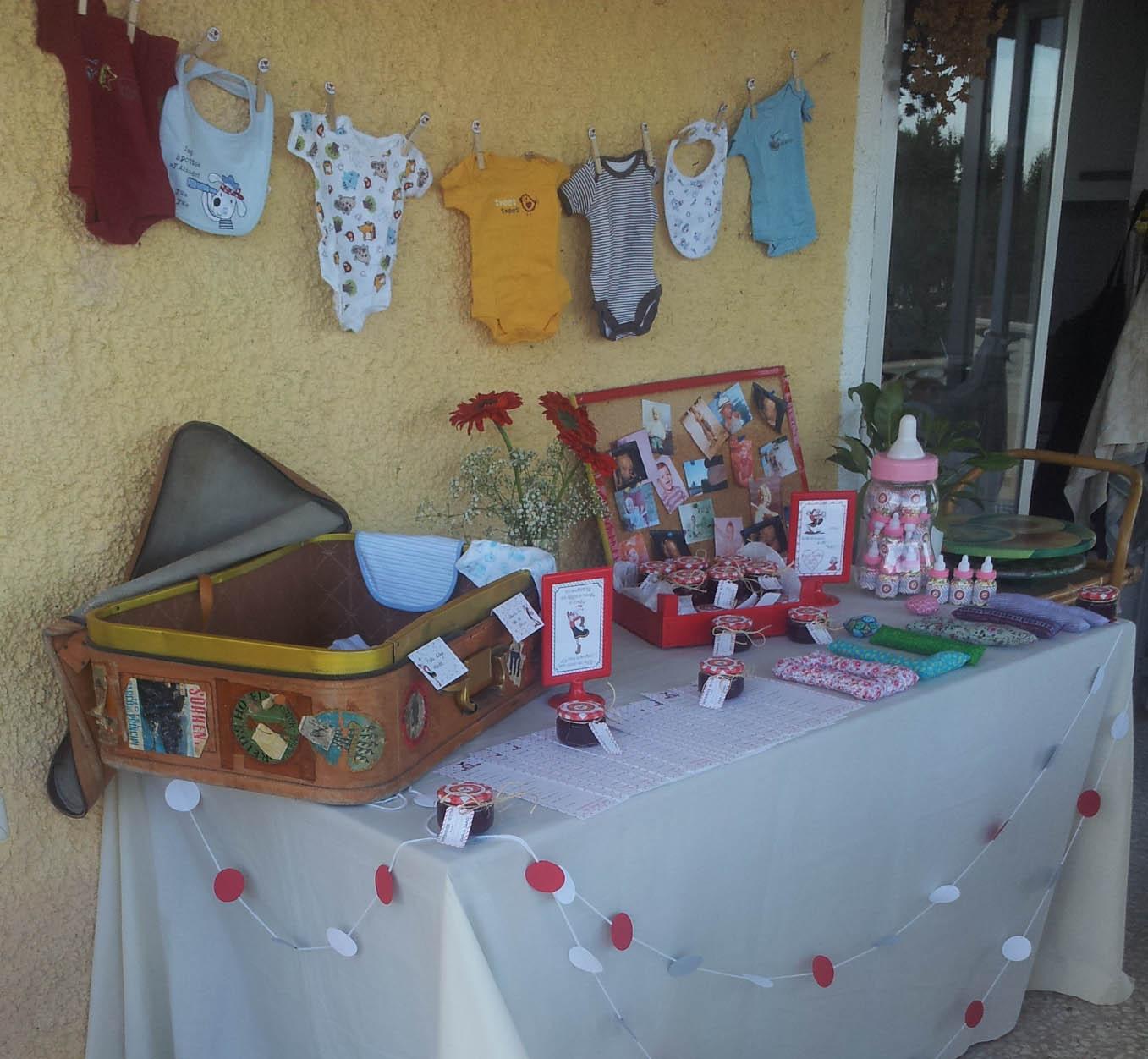Adornos Para Mesa De Regalos De Baby Shower.Mesa De Regalos Para Baby Shower Nino Free Printable Model