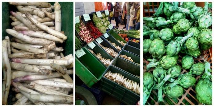 Verduricas en el mercado