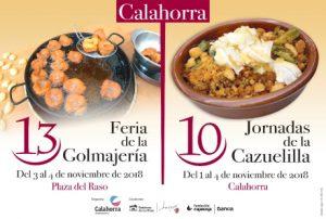 Cartel 13 Feria Golmajería Calahorra