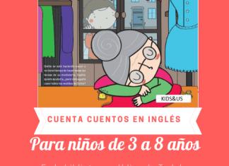 Cartel Story Time biblioteca Tudela