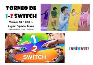 Torneo de Switch en Espacio Joven Tudela enero 2019