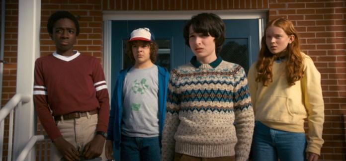 strangers Things en en Series de Netflix para ver con niños de 8 a 12 años