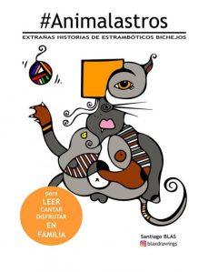 Cartel taller animalastros santiago blas en Tudela