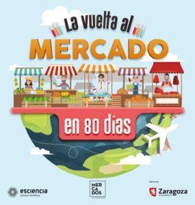 Cartel mercados Zaragoza