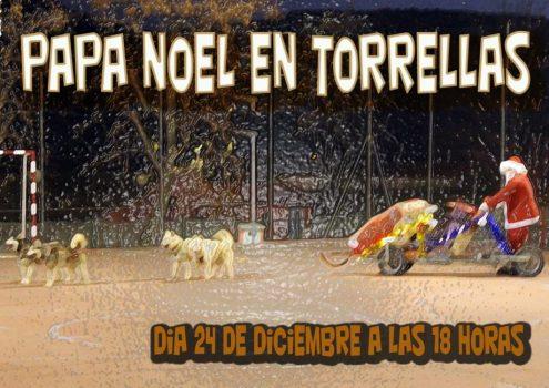 PAPÁ NOEL VISITA TORRELLAS