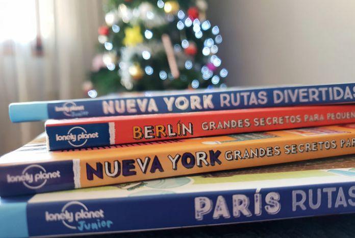 Libros de viajes para niños en Navidad