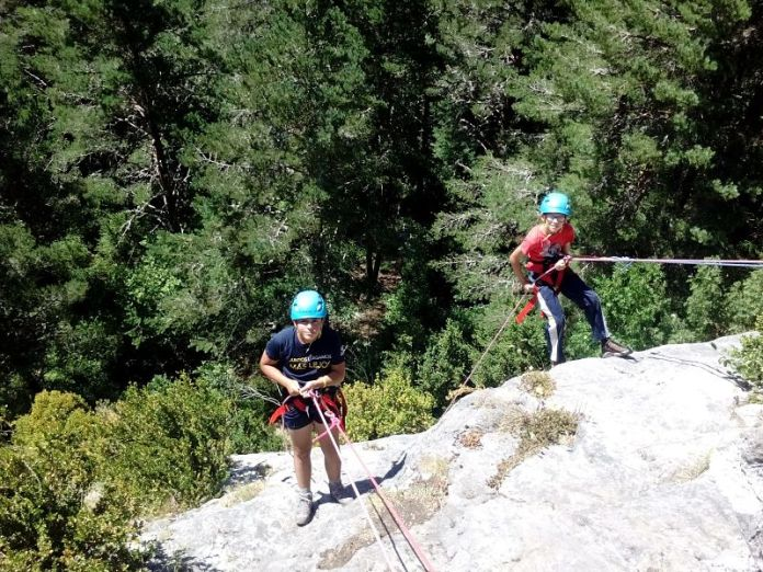 Campamento ecoaventura pirineos