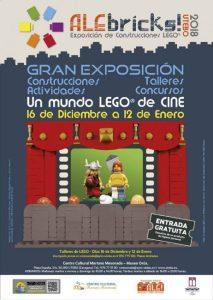 Exposición y talleres de Lego en Utebo
