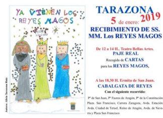RECIBIMIENTO DE SS.MM. LOS REYES MAGOS TARAZONA