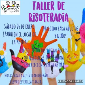 TALLER RISOTERAPIA MILAGRO