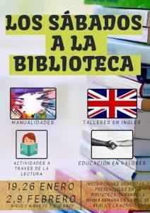 biblioteca Calahorra sábados