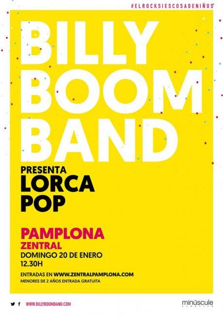 Música rock para toda la familia en Pamplona