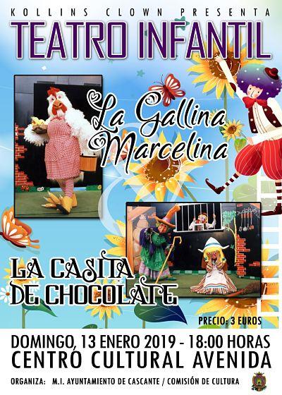 kollins clown, cascante, teatro