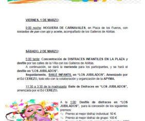 Carnaval 2019 Ablitas