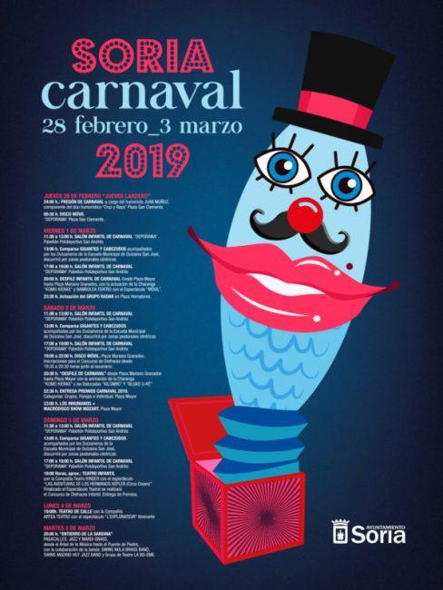Cartel Carnaval 2019 Soria