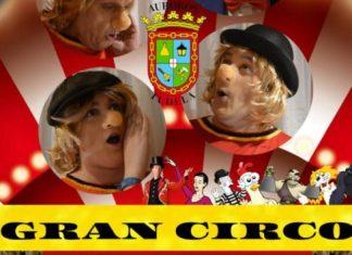Cartel Circo Auroros Tudela