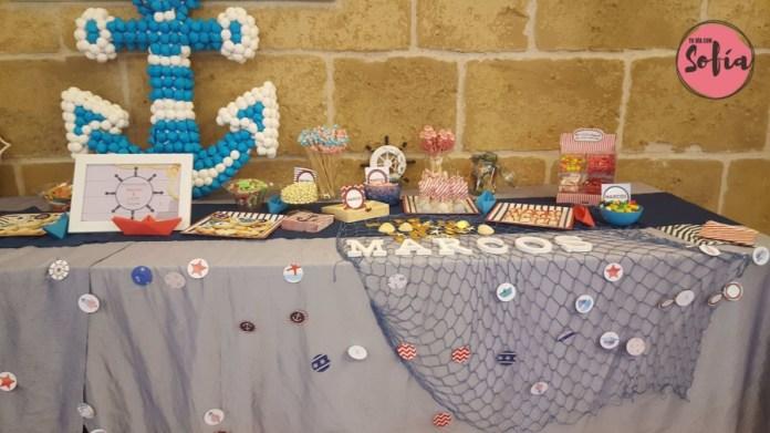 Mesa dulces comunión Tudela