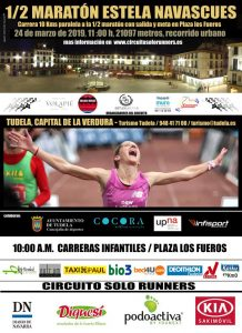 Cartel Media Maratón Estela Navascués