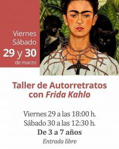 TALLER AUTORRETRATOS FRIDA KHALO