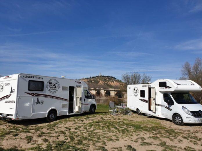 Autocaravana en Tudela