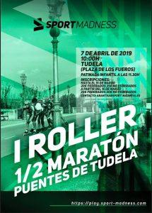 roller maratón puentes de Tudela