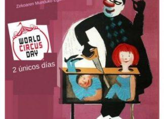 Cartel día Mundial del Circo en Navarra