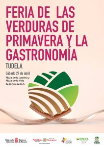 Cartel Feria Verduras de Primavera Tudela