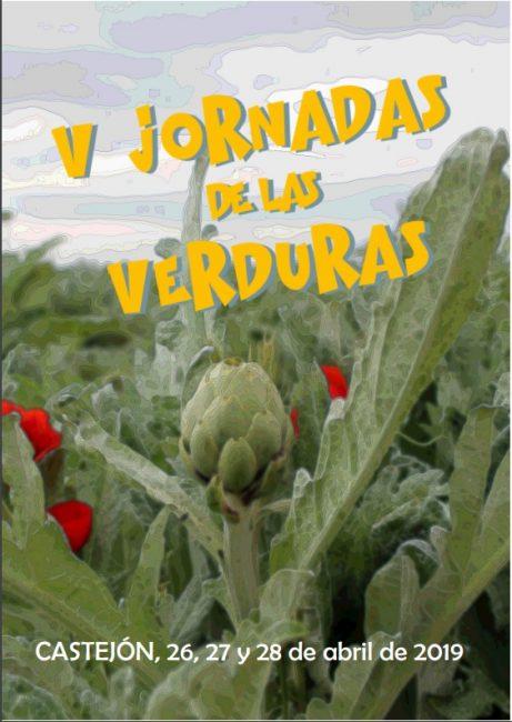 Cartel Jornadas Verdura Castejón 2019