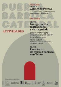 jazz puerta barroca catedral Tudela