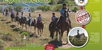 Cartel Campamento Verano Campo Alegre