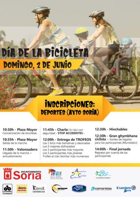 Cartel Día Bicicleta 2019 Soria